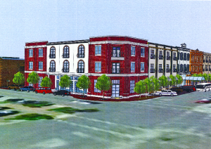 Rendering of the new Hotel Winters