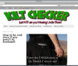 Website – kiltchecker.com 1 Month Rental