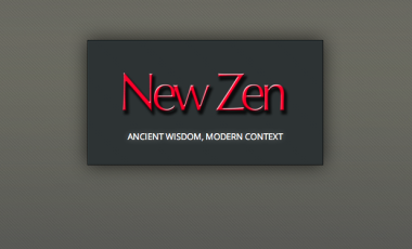 Website – NewZen.info 1 Month Rental