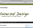 Website – universaldesignpro.com 1 Month Rental